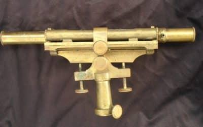 Antique Dutch brass measuring instrument of Kleman & Zoon